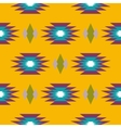 Aztec indian geometric seamless pattern vector image