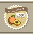 Smoothie Sticker 2 vector image