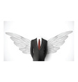 Business suit Wings vector image vector image