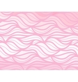 wave background of doodle hand drawn lines vector image
