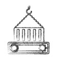 container icon image vector image