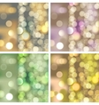 blurred lights backgrounds vector image