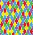 harlequin pattern vector image vector image