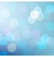 Blue defocused lights background vector image