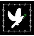 No freedom vector image vector image