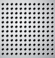 metal plate with holes vector image vector image