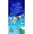 Greeting Card Christmas vector image vector image