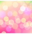 Abstract blurred pink background of holiday lights vector image