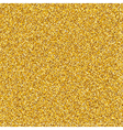 Golden Glitter Texture vector image