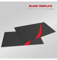 blank template vector image vector image