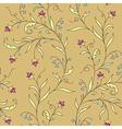 pattern modernist flower vector image