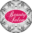 Beauty Salon Cover with Abstract beautiful woman vector image vector image