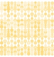 Beige metaball seamless pattern vector image