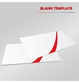 blank template vector image