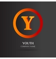 Y Letter logo abstract design vector image