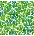 Seamless floral nature background pattern with vector image