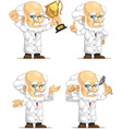 Scientist or Professor Customizable Mascot 7 vector image