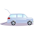 Vehicles for transportation of persons with vector image vector image