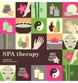 spa salon vector image vector image