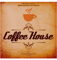 background with texture for coffee house vector image