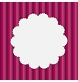 Frame in Paper Vintage Seamless Background vector image