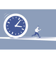 Time is killing vector image