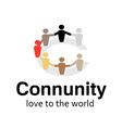 Community Design vector image