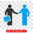 Contract Eps Icon vector image