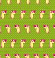 Cool rabbit pattern vector image