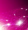 digital technology background vector image vector image