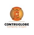 Construglobe Design vector image