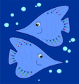 fishy vector image