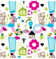 colorful eco pattern vector image