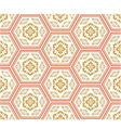 seamless chinese style fabric pattern vector image