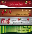 greeting-banners vector image