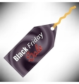 Black Fridays Label vector image vector image