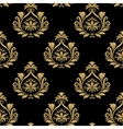 Seamless baroque background vector image