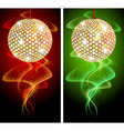 Discoball Background vector image vector image