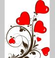 st valentine theme vector image vector image