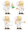 Scientist or Professor Customizable Mascot 10 vector image