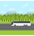 bus trip vector image