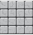 stone tiles seamless pattern vector image