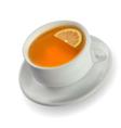 Lemon Tea vector image vector image