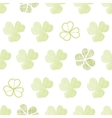 clover textile textured geometric seamless pattern vector image