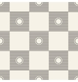 Seamless square pattern tile background geometric vector image