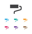 of equipment symbol on roller vector image