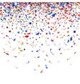 colored confetti vector image