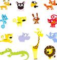 simple cute animal symbol - icon vector image