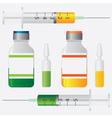 Vaccination vector image vector image