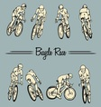 Bicycle Race vector image